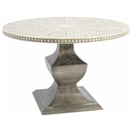 Petals Grey Bone Round Dining Table.jpg